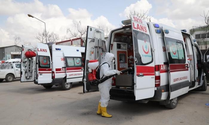 Ambulansların hijyeni Büyükşehir'e emanet