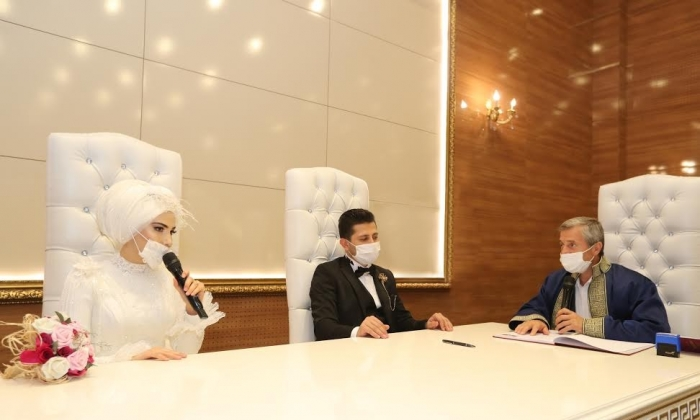 Şahinbey'de nikahlar youtebe yayınlanacak