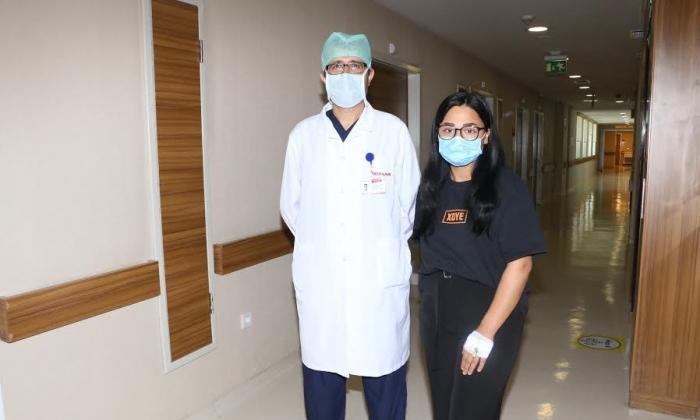 Medical Park'ta terleme şikayetinden kurtuldu
