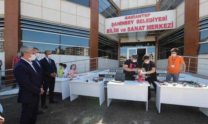 Şahinbey'den Okullara ziyaret