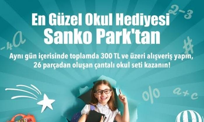 Sanko Park'tan Okul seti