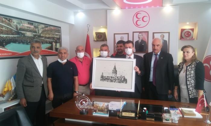Anavatan Partisi'nden MHP ve BBP'ye ziyaret
