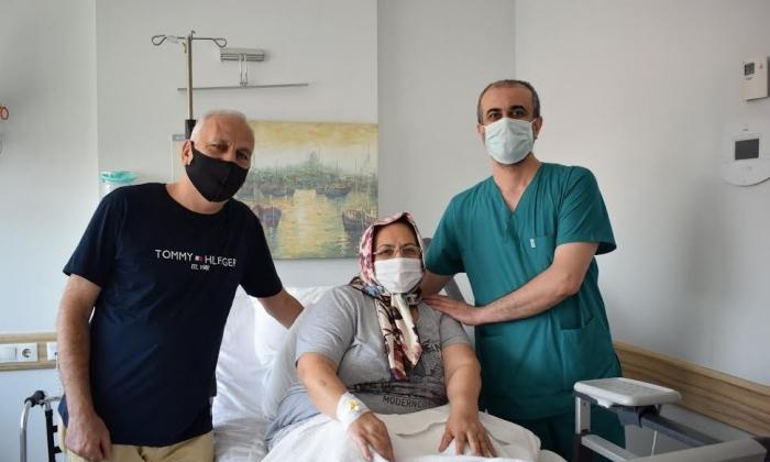 Diz protezi ameliyatıyla Anka'da ağrılarından kurtuldu