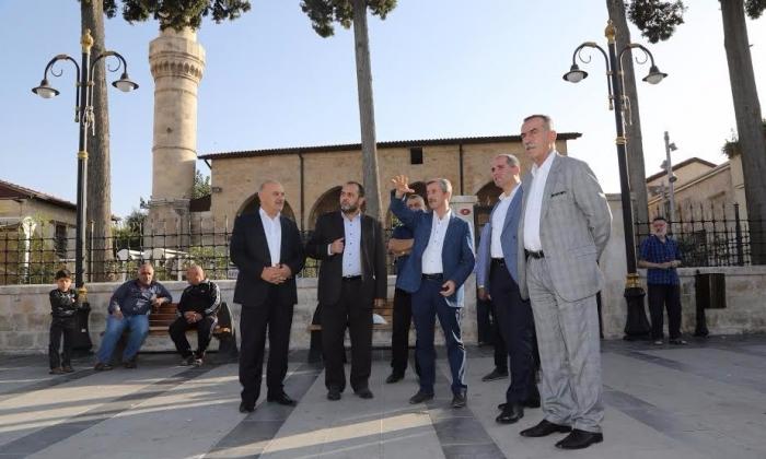 Ecebad misafirleri Şahinbey'e hayran