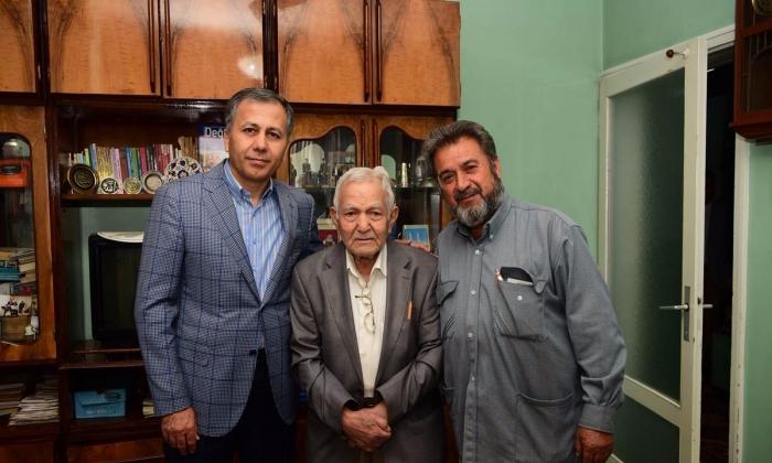 Vali Yerlikaya'dan Mehmet Tekerlek'e ziyaret