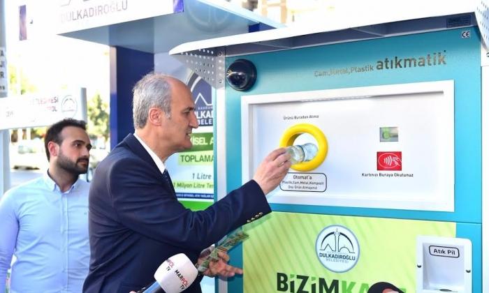 Dulkadiroğlu'nda 'Sıfır Atık' projesi