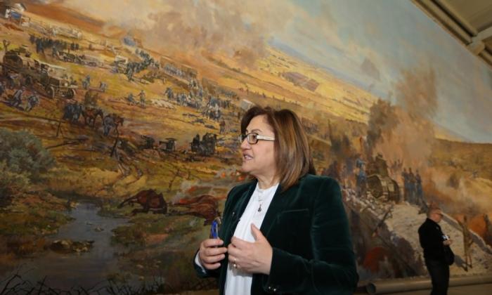 Şahin Panorama Müzesini gezdi