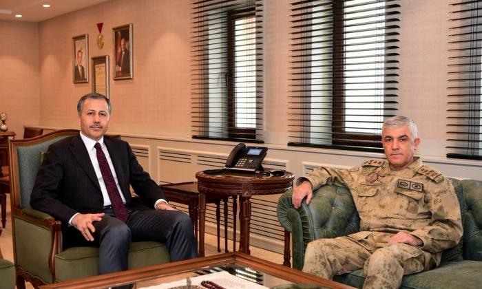 Jandarma Genel Komutanı'ndan Vali'ye ziyaret