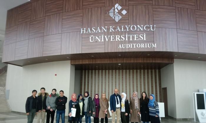 HKÜ'ye Irak'lı öğrencilerden ziyaret