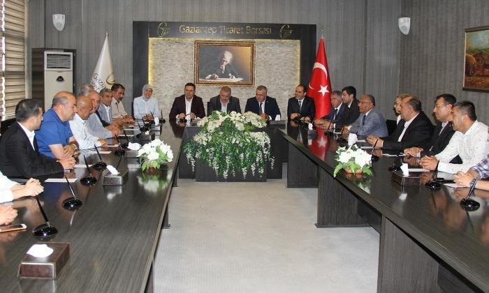 MHP'li adaylardan GTB'ye ziyaret