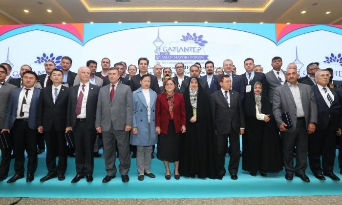 ASYA BELEDİYE BAŞKANLARI, GAZİANTEP'TE TOPLANDI