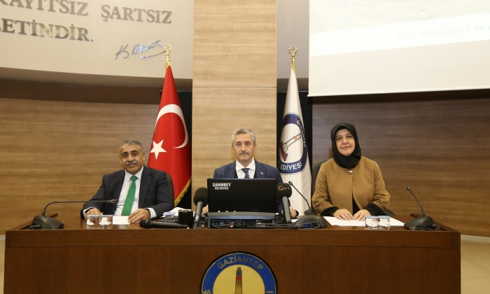 Şahinbey'de Meclis toplantısı yapıldı