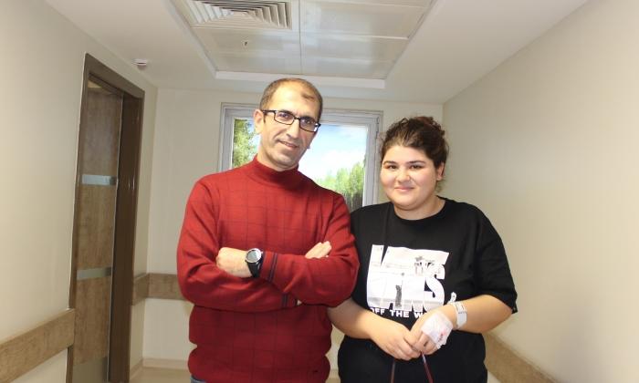 Almanya'dan geldi HATEM'de sağlığına kavuştu