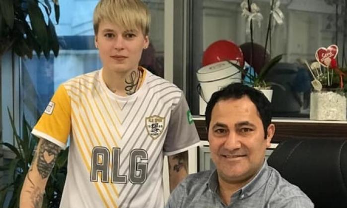 ALGspor'a Rus golcü