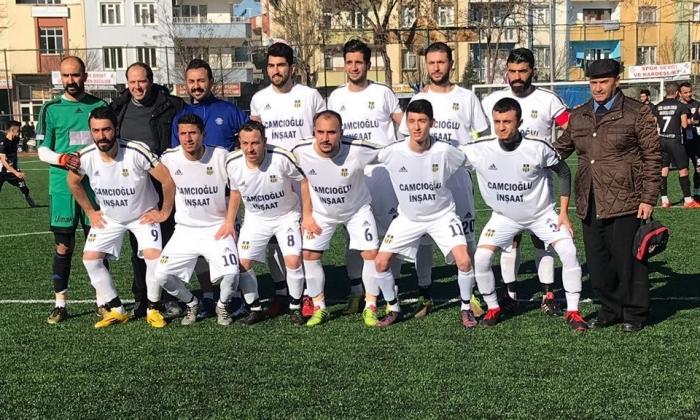 Camcıoğluspor 3 puanı almasını bildi: 2-0