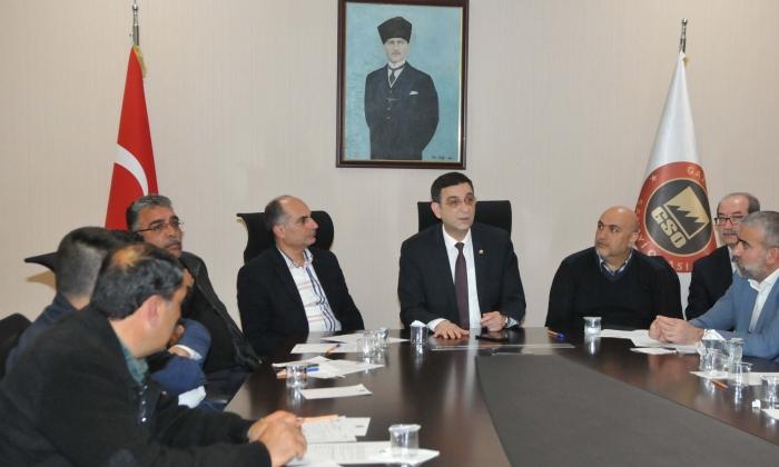 GSO'da Triko toplantısı