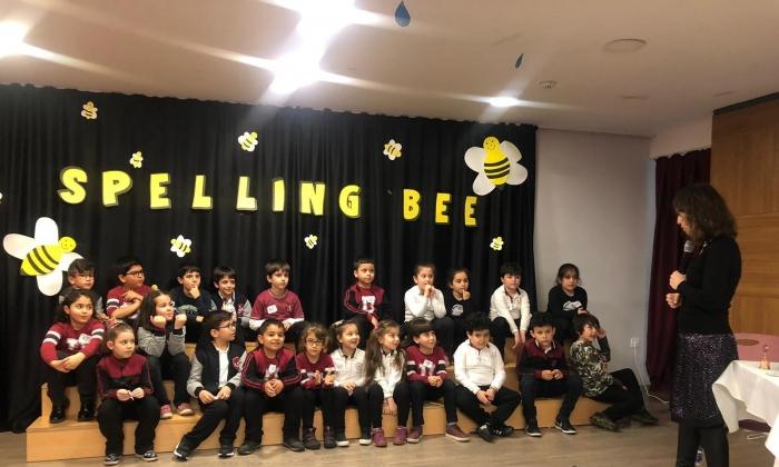 Uygar Kolejinde Spelling Bee Yarışması