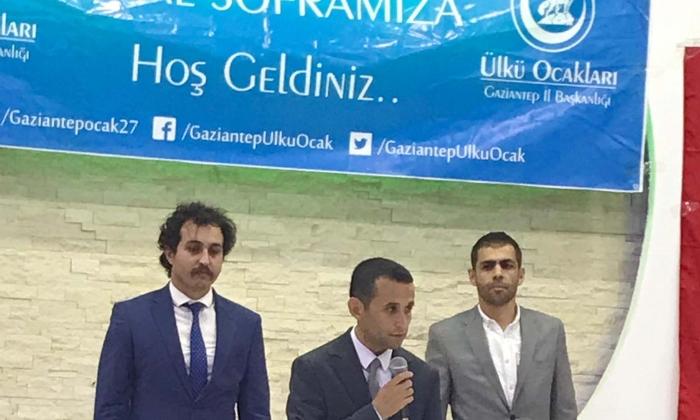 Ülkücüler Gaziantep'te buluştu