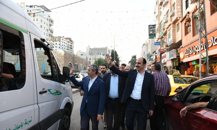 Tahmazoğlu'ndan Filistin'e ziyaret