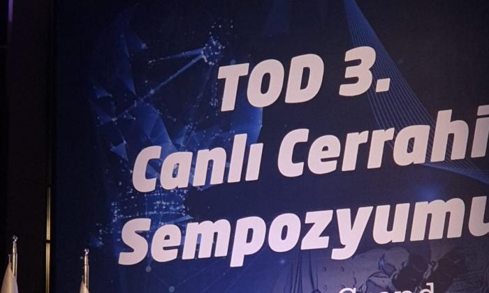 """""""Canlı Cerrahi"""" sempozyumuna Göznuru damgası"""