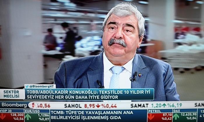 """Konukoğlu, """"Tekstilciler Dış pazarda çok iyi"""""""