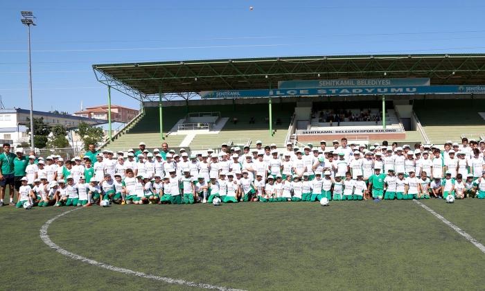 Şehitkamil'de Yaz spor Okullarına büyük ilgi