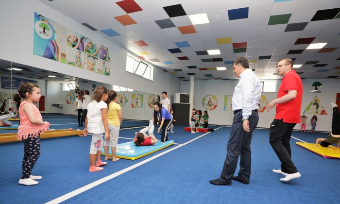 Şehitkamil'de yıl boyu Jimnastik