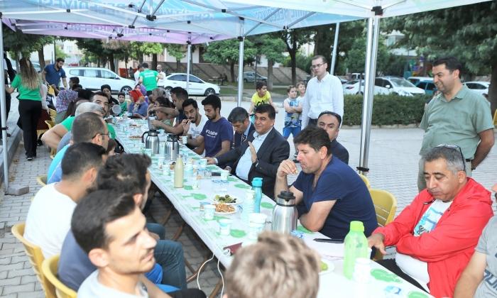 Başkan Fadıloğlu, spor merkezi üyeleriyle buluştu