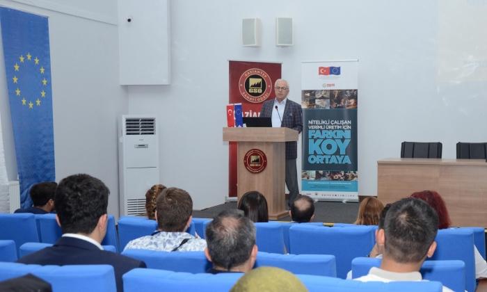 GSO Mahir Eller projesini tanıttı