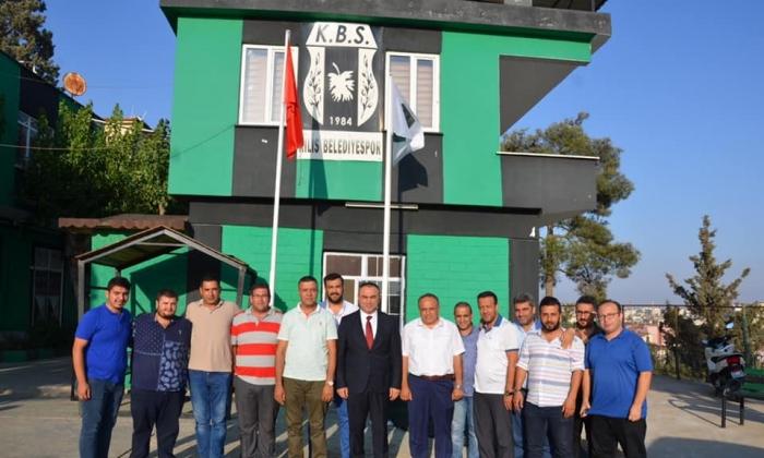 VALİ SOYTÜRK'TEN KİLİS BELEDİYESPOR'A TAM DESTEK