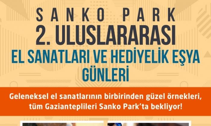 Sanko Park'ta El Sanatları sergisi