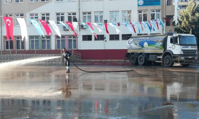 Şahinbey'de Kurban Bayramı temizliği