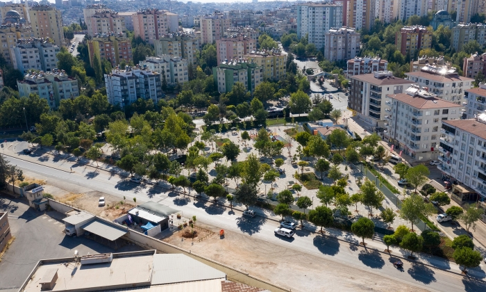 Yasemin Erman Parkı yeniden dizayn ediliyor