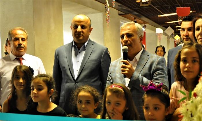 Çocuk Sanat Merkezinde sergi açıldı