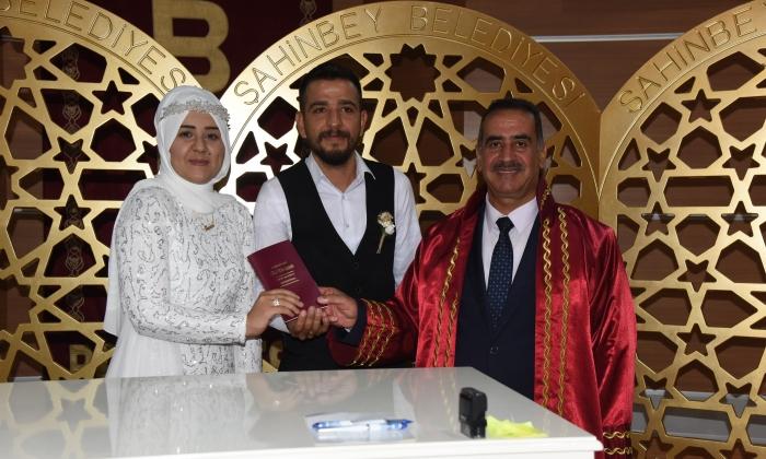 Şahinbey'de 9.9.2019 Nikahı