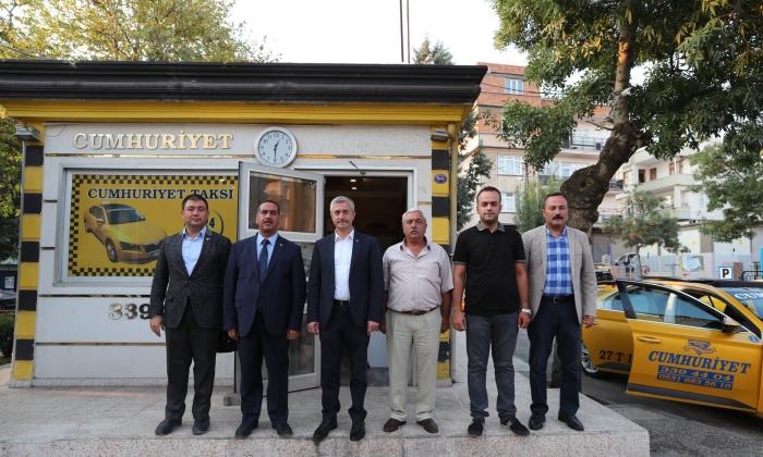 Tahmazoğlu'ndan Taksicilere ziyaret