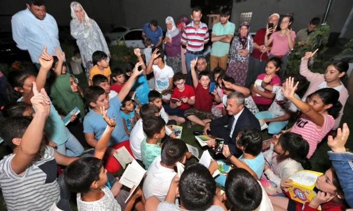 Tahmazoğlu'ndan Kitap Okuma kampanyasına destek