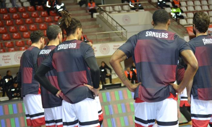 Gaziantep Basketbol Anadolu Efes'i bekliyor