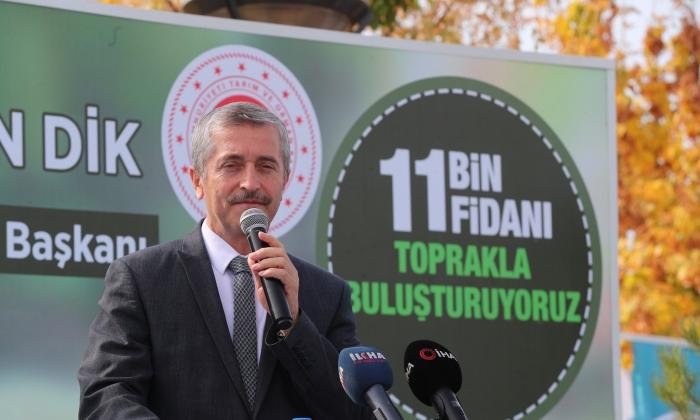 ŞAHİNBEY'DEN 11.000 FİDAN