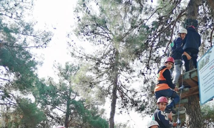 Şehitkamil'den Doğa kampı