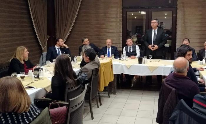 Naci Topçuoğlu MYO'da istihdam konuşuldu