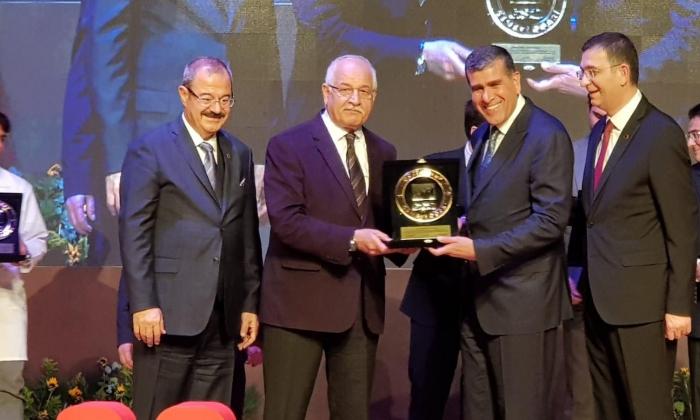 Altunkaya'ya ödül Erdoğan'dan