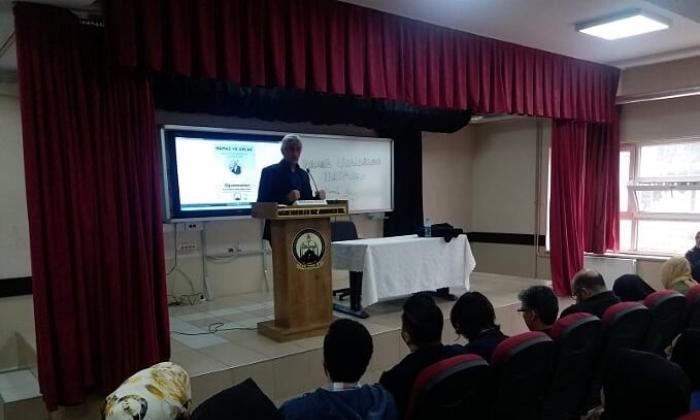 Abdullah Yıldız'dan Namaz ve Ahlak konferansı