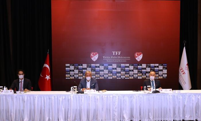 TFF alt ligleri iptal etti
