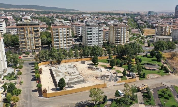 Şehitkamil'den Atatürk Mahallesine Taziye evi