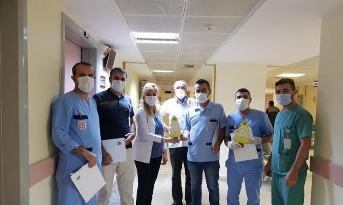 Sağlık çalışanlarının isimleri GAGİAD ormanında yaşayacak