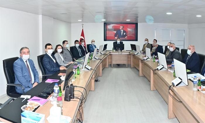 Osmaniye Düziçi'nde covid toplantısı