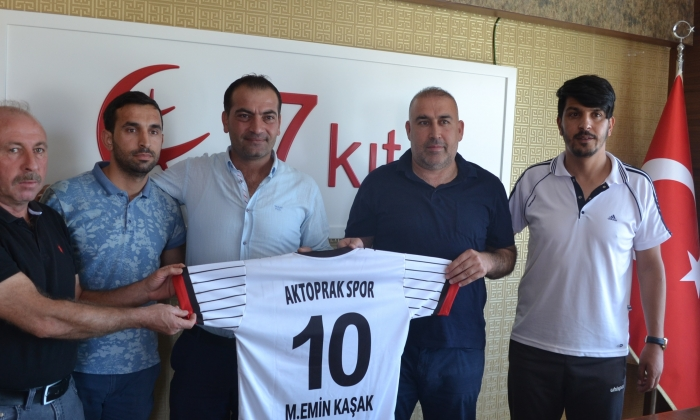 Aktoprakspor'un yeni sponsoru 7 Kıta
