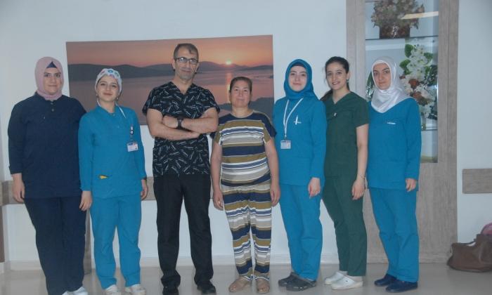 Hatem'de ameliyatla kurtuldu