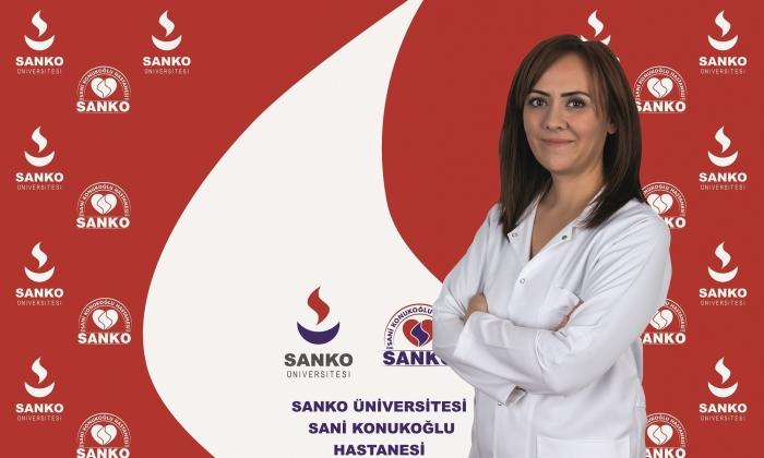 Dr. Burcu Gökalp Özcan Sanko Hastanesi'nde